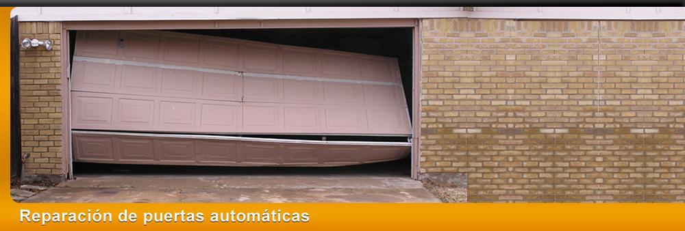 Reparación de puertas automáticas