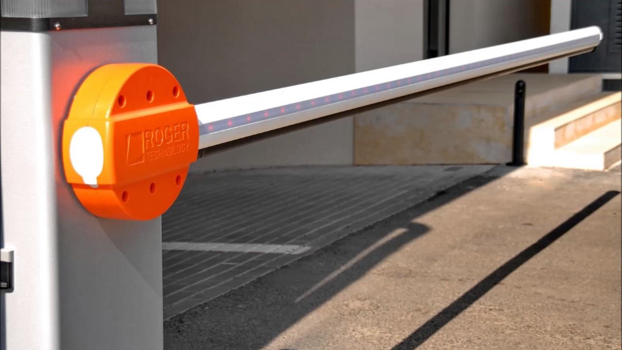 barreras de acceso roger